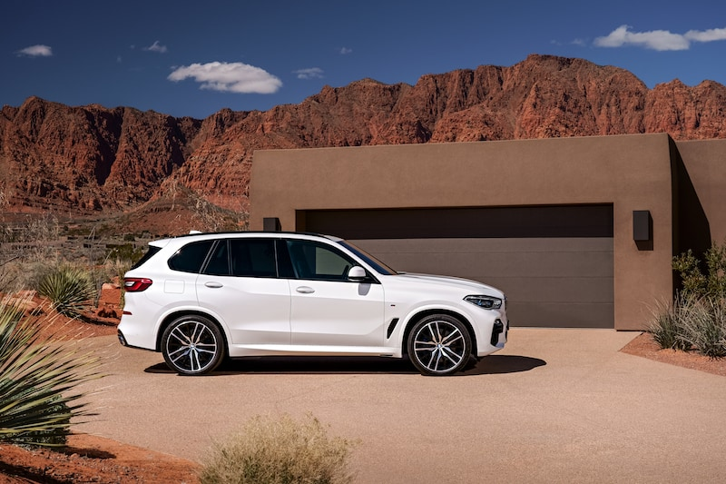 bmw g05 x5 msport white
