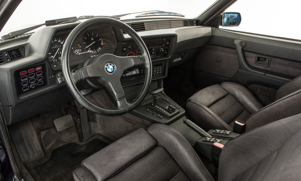 bmw e24 635i csi interior