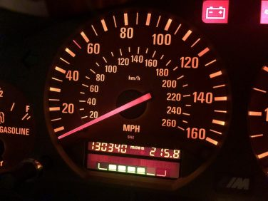 bmw service interval indicator