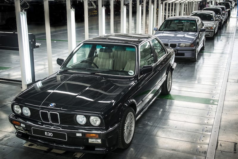 bmw 3 series production line