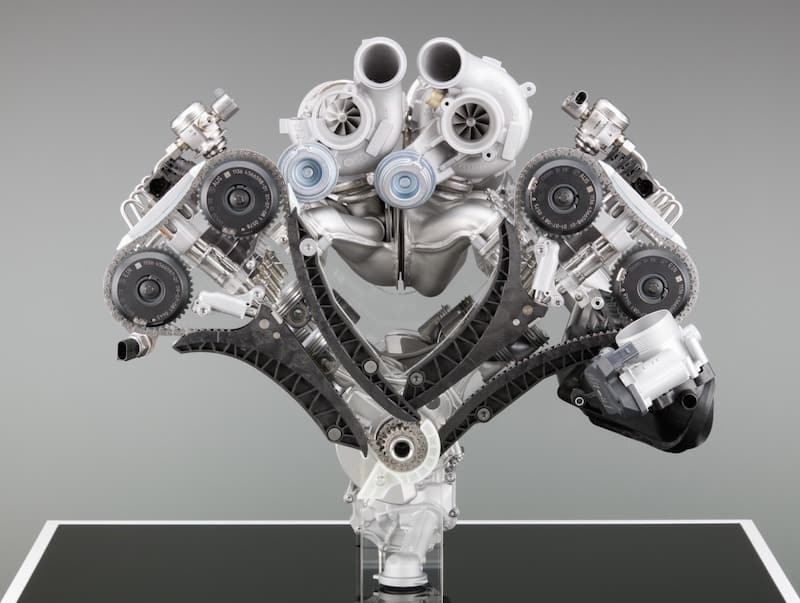 BMW S63 engine