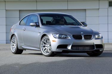BMW E92 M3 frozen gray