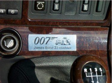 BMW 007 goldeneye z3