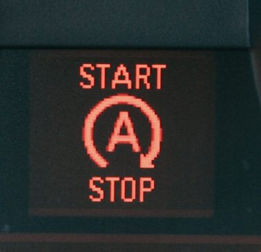 BMW auto start stop