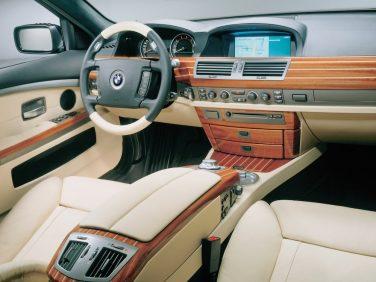 BMW E65 yachtline