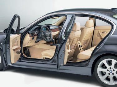 BMW E90 interior