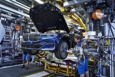 BMW 7 series lci