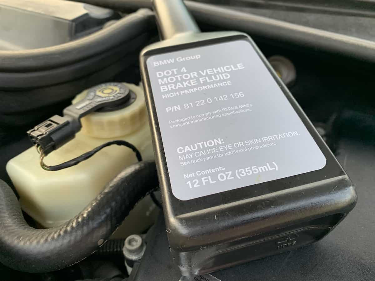 Why is it important to bleed your BMW brake system