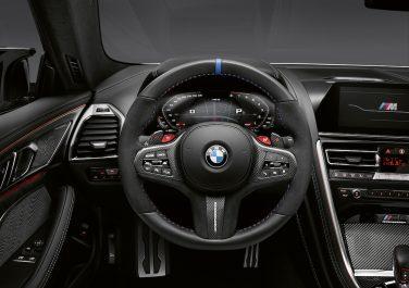 BMW M8 interior