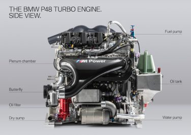 BMW P48 engine