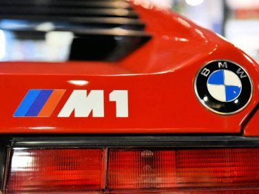 BMW M1 badge