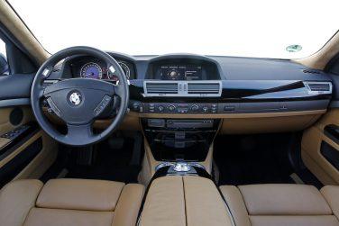 BMW E66 interior