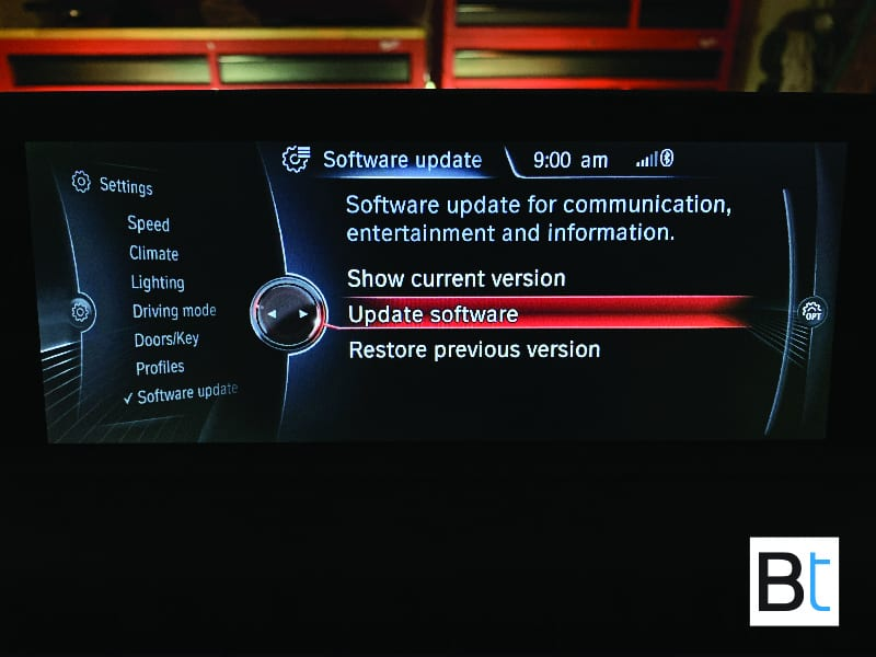 BMW iDrive / ConnectedDrive Software Update USB