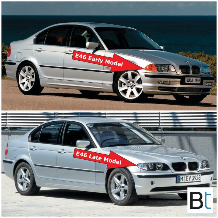 BMW E46 LCI changes