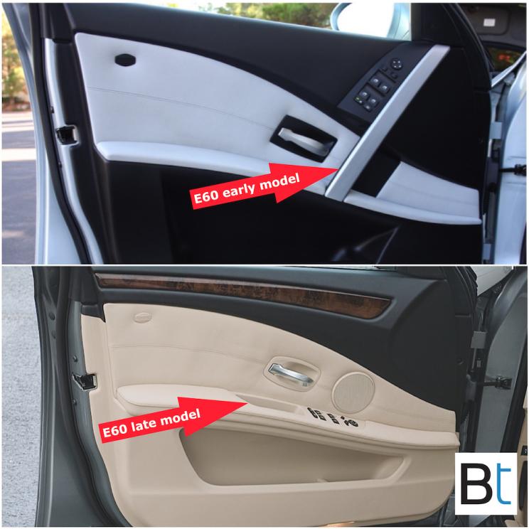 BMW E60 LCI changes