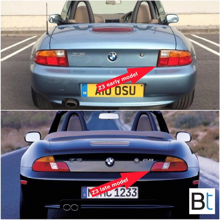 BMW Z3 LCI changes
