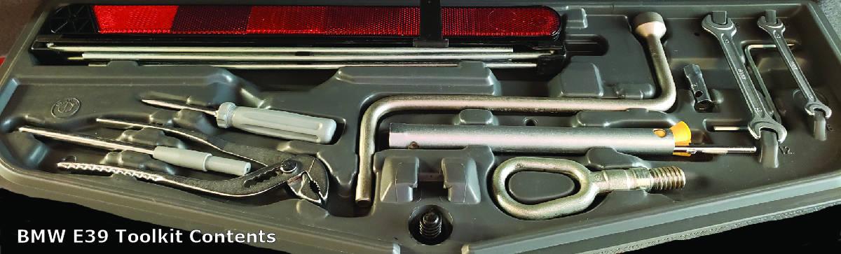 E39 tool kit part numbers