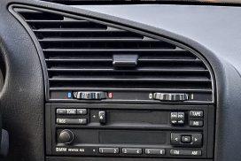 BMW temp dial center vent
