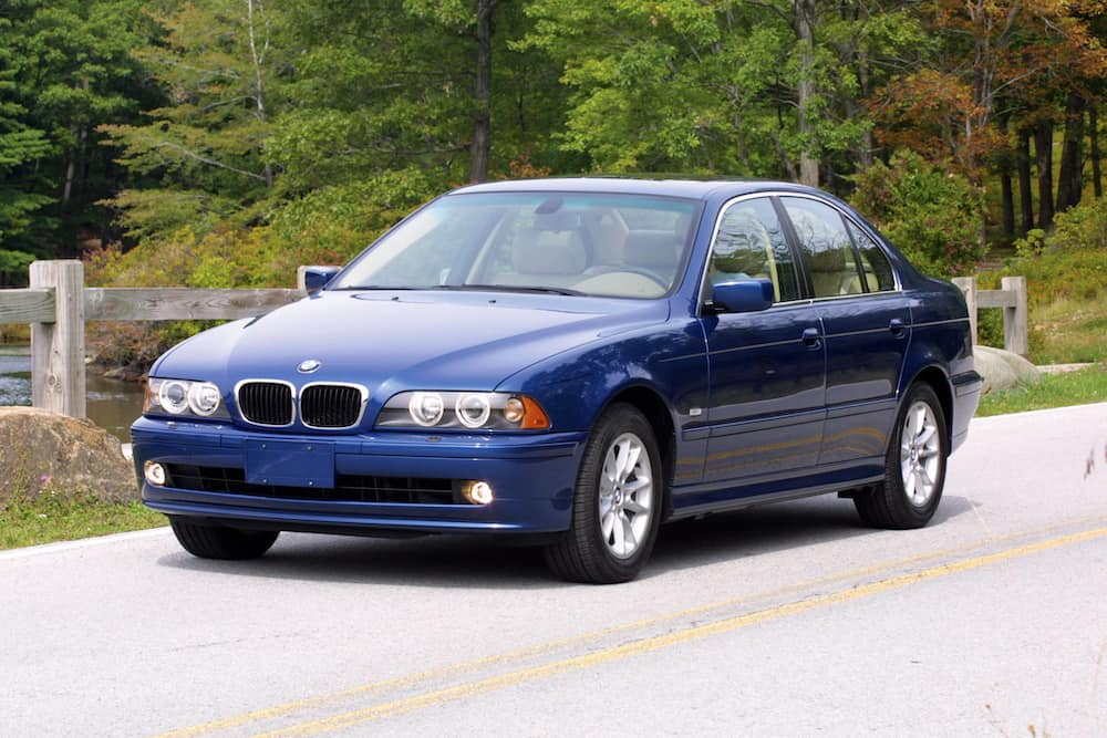 BMW E39 paint codes