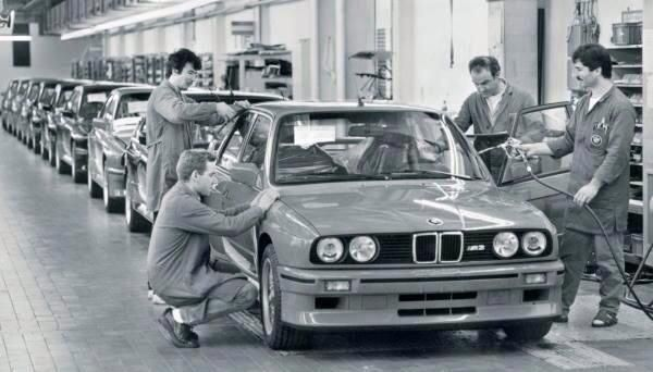 BMW E30 M3 production numbers