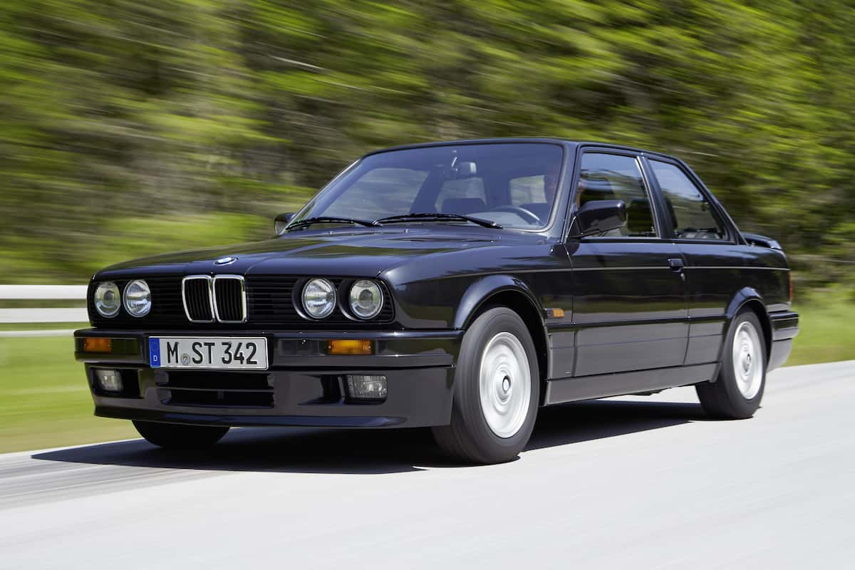 BMW E30 production numbers data