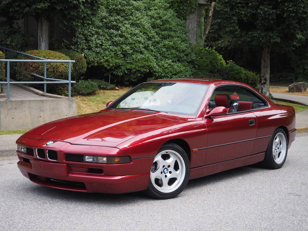 BMW E31 paint codes calypso red