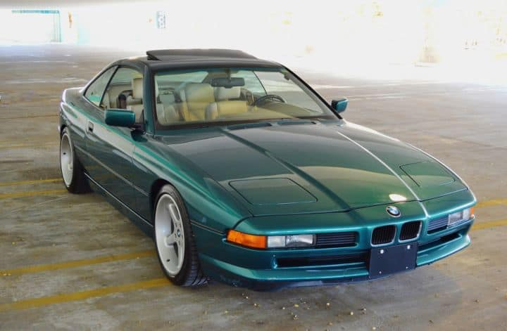 BMW E31 paint codes lagoon green
