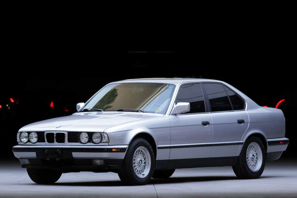 BMW E34 paint code sterling silver