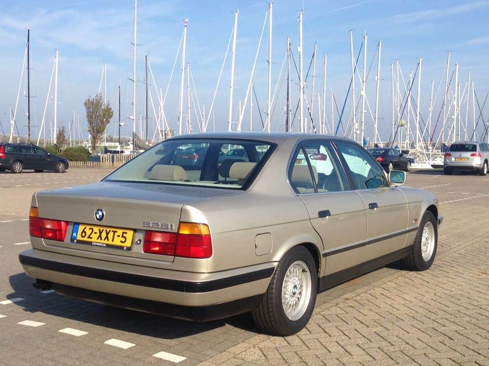 BMW E34 paint codes cashmere biege metallic