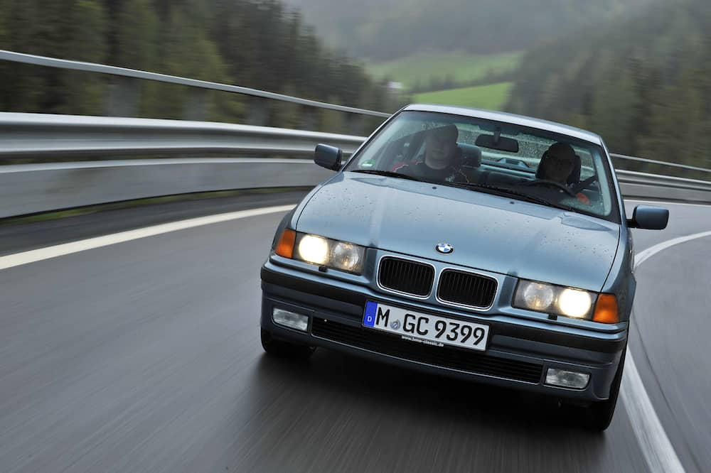 BMW E36 production number data sedan