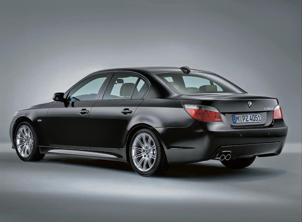 BMW E60 5 series paint codes