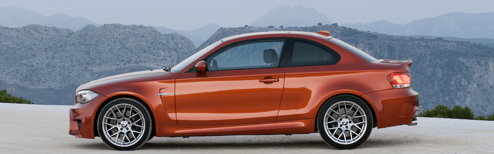 bmw e82 m coupe valencia orange paint code