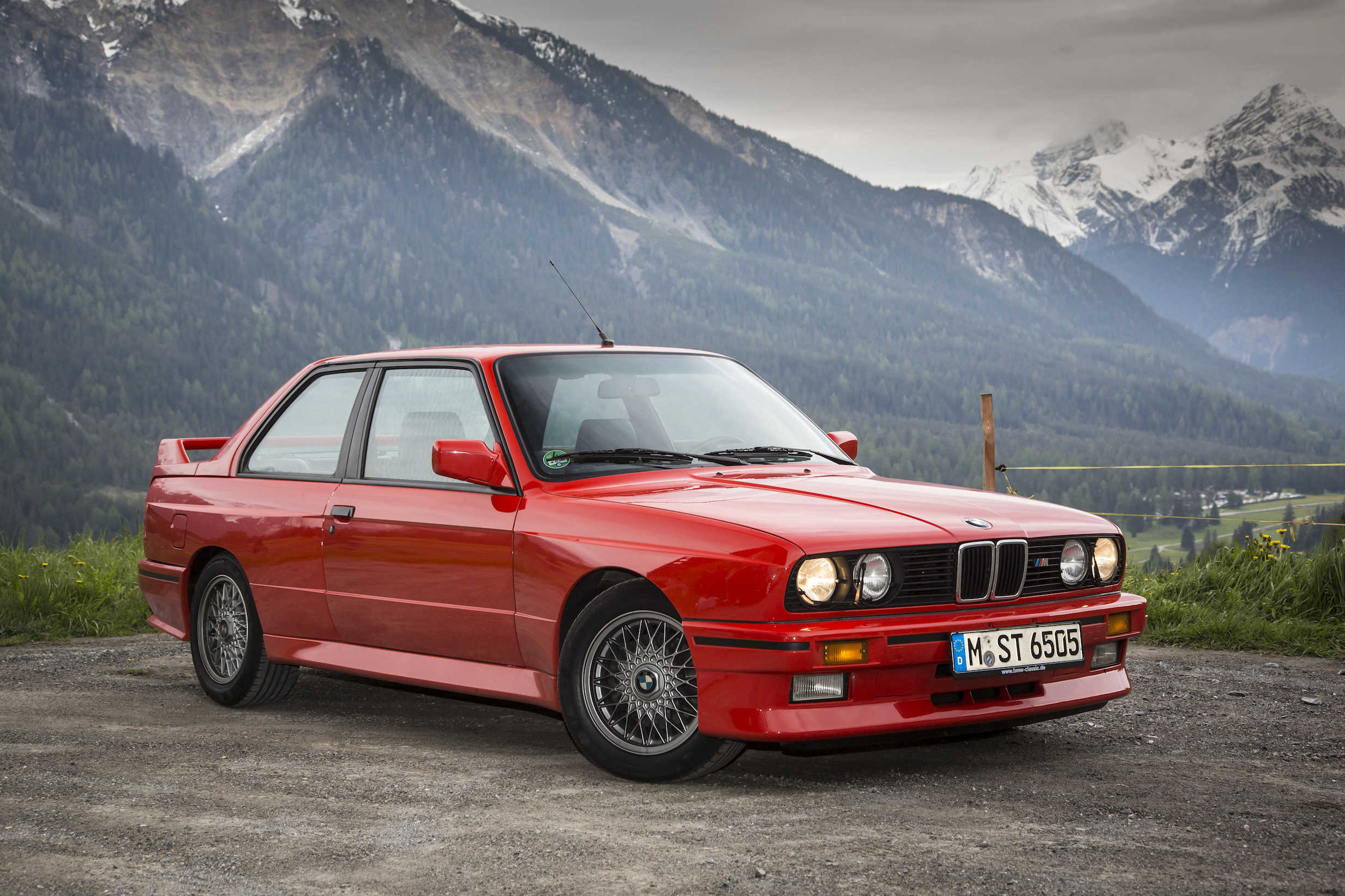 Stock BMW E30 M3 Red