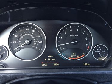 2015 3 series instrument cluster
