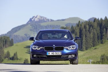 2016 BMW 3 series front eyes