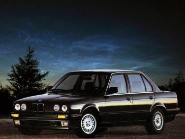 BMW E30 3 series sedan