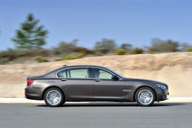 BMW F01 7 series face lift
