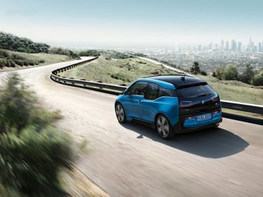 2017 BMW i3 protonic blue metallic