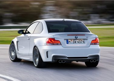 BMW 1M coupe alpine white