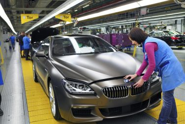BMW 6 series production plant