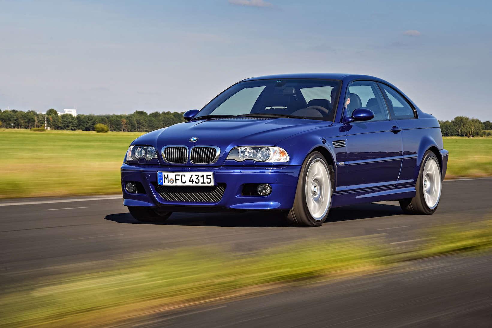 BMW E46 M3 Blue