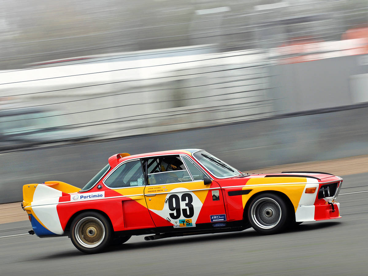 BMW E9 CSL 3.0 art car Alexander Calder