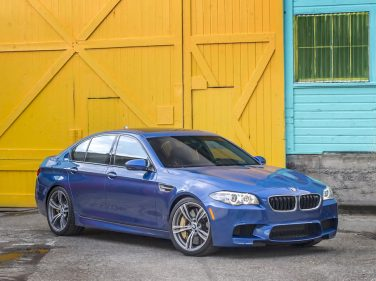 BMW F10 M5 facelift