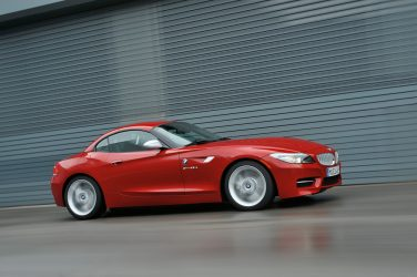 Melbourne Metallic Red BMW Z4
