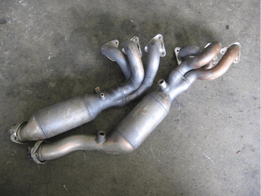 BMW E46 catalytic converter headers