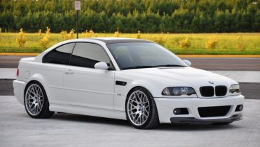 BMW E46 M3 Alpine White