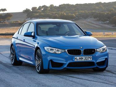 BMW M4 Blue