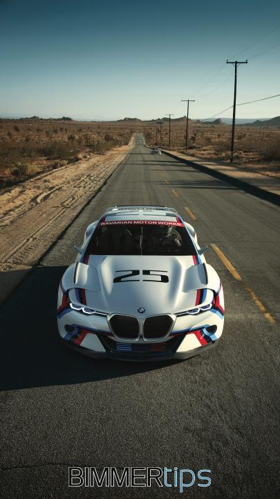 BMW 3.0 CSL hommage wallpaper