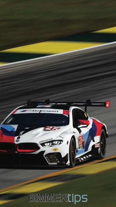 bmw m8 gte wallpaper